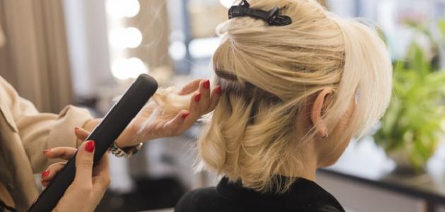 صورة أفضل طرق فرد الشعر المجعد