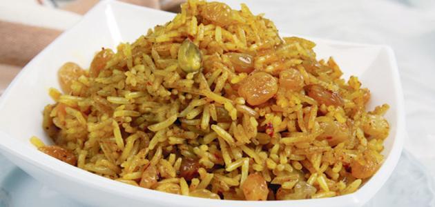 صورة عمل الأرز بالخلطة