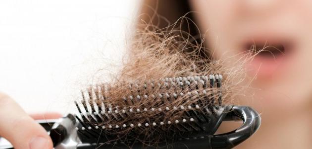 صورة وصفة طبيعية لعلاج تساقط الشعر
