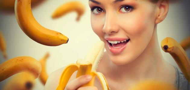 صورة فوائد الموز للشعر والبشرة