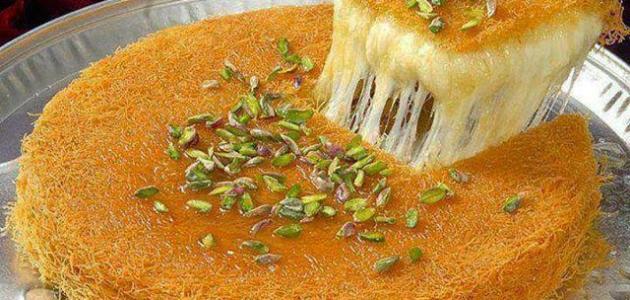 صورة طريقة عمل كنافة بالجبنة