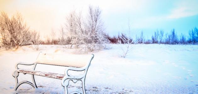 صورة تفسير الثلج في المنام