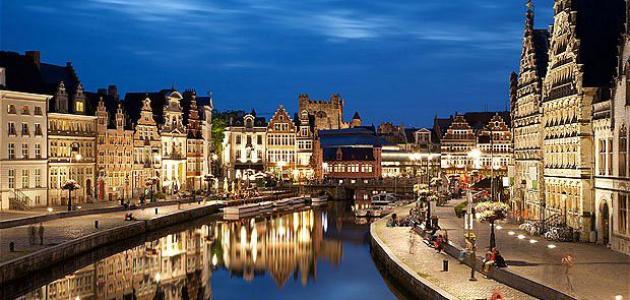 صورة مدينة جنت في بلجيكا