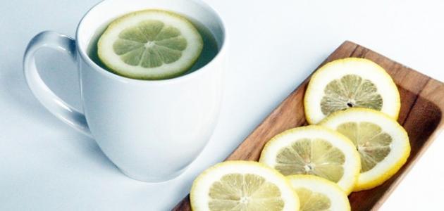 صورة فوائد شرب ماء الليمون على الريق