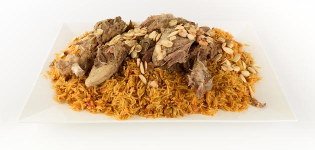 صورة طريقة الكبسة السعودية باللحم