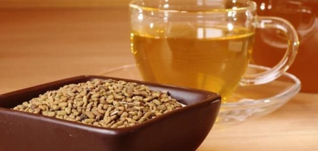 صورة فوائد شرب الحلبة للبشرة