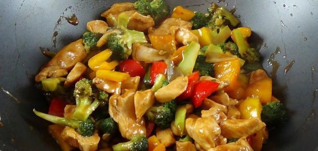 صورة طريقة عمل دجاج صيني بالخضار