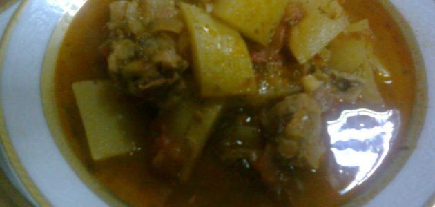 صورة طريقة إيدام البطاطا