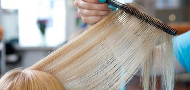 صورة طريقة لتغذية وتطويل الشعر