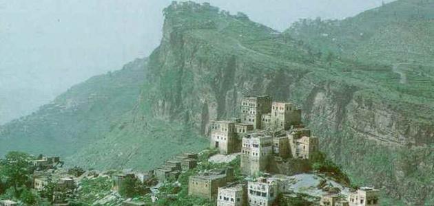 صورة محافظة حجة في اليمن
