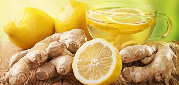 صورة فوائد شاي الزنجبيل والليمون للرجيم