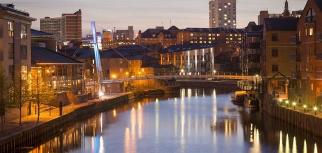 صورة مدينة ليدز في بريطانيا