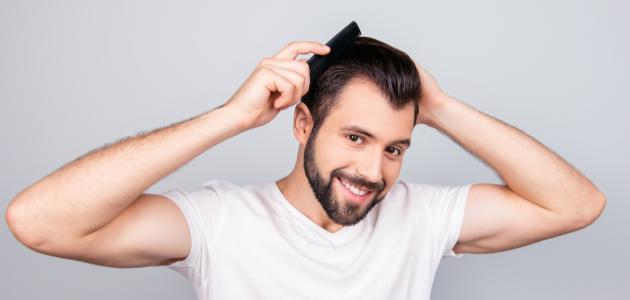 صورة كيفية فرد الشعر للرجال بالبيت