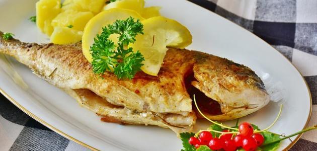 صورة طريقة قلي سمك السلطان إبراهيم