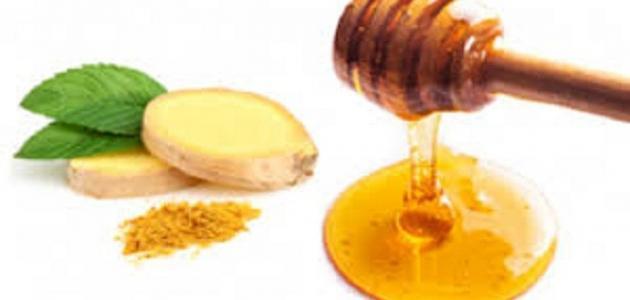 صورة فوائد العسل والزنجبيل على السرة