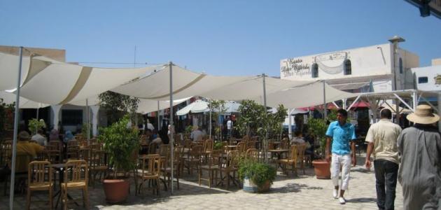 صورة جزيرة جربة حومة السوق