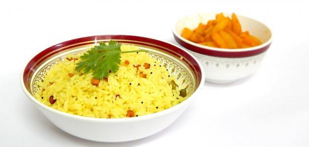 صورة عمل الأرز بالكاري