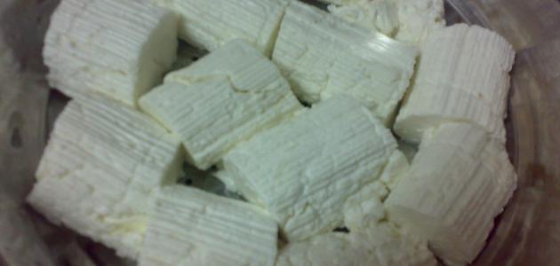 صورة طريقة تحضير الجبن في المنزل