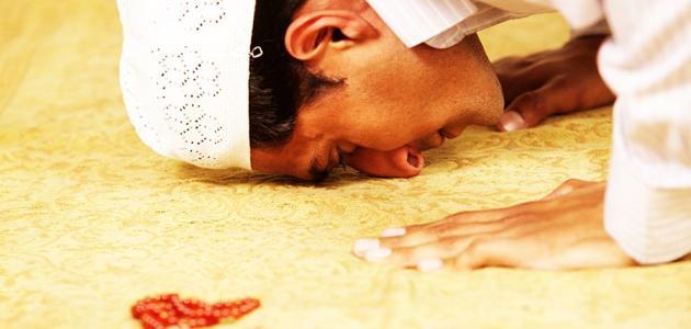 صورة شعر عن الصلاة