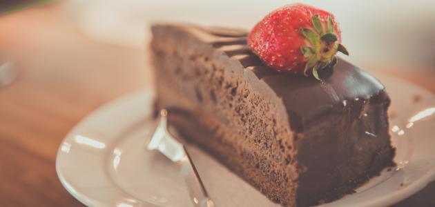 صورة طريقة كيكة شوكولاتة بالصوص