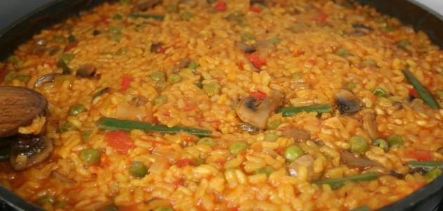 صورة أطباق الأرز في الفرن