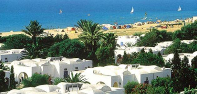 صورة مساحة جزيرة جربة