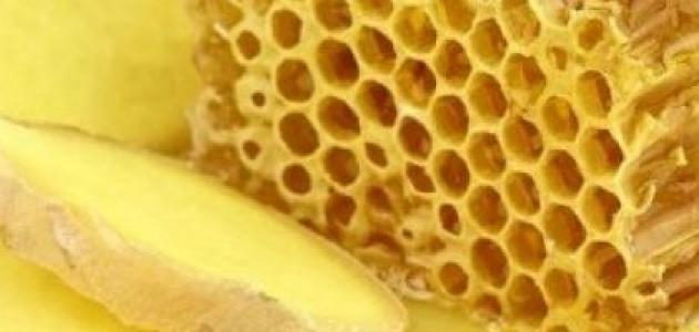 صورة فوائد الزنجبيل والعسل في السرة