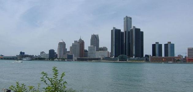 صورة معلومات عن مدينة ديترويت