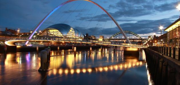 صورة مدينة نيوكاسل البريطانية