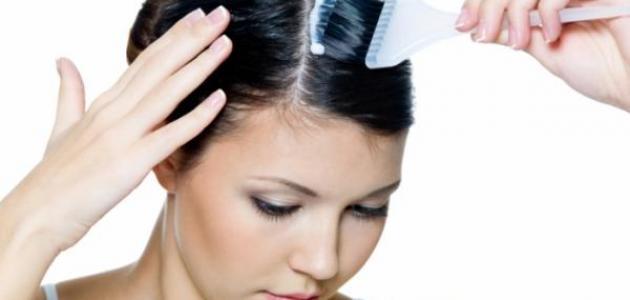 صورة تأثير صبغة الشعر على الحامل