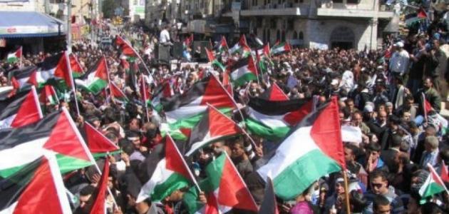 صورة عدد سكان فلسطين