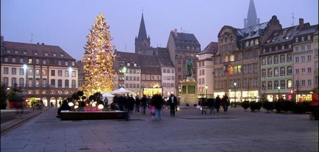 صورة مدينة ستراسبورغ فرنسا