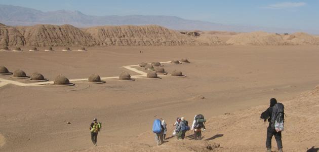 صورة أين توجد صحراء لوط