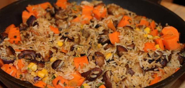صورة أكلات الأرز في الفرن
