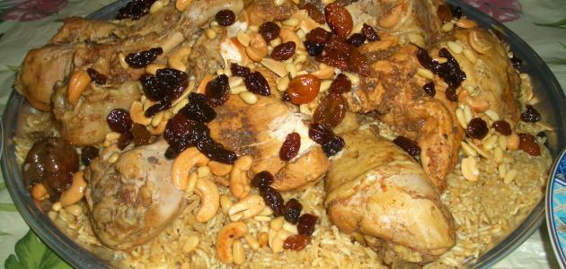 صورة أكلات أرز ودجاج