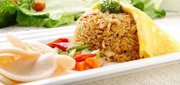 صورة طريقة عمل طاجن الأرز باللحمة