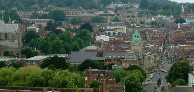 صورة مدينة وينشستر في بريطانيا