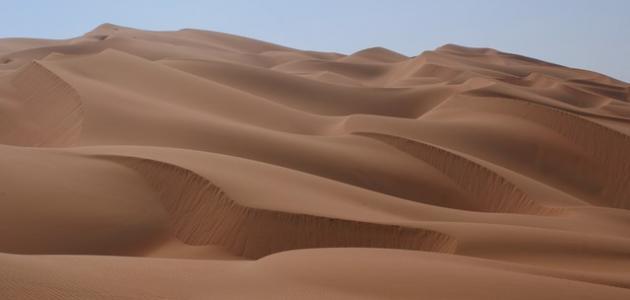 صورة أين توجد صحراء الربع الخالي