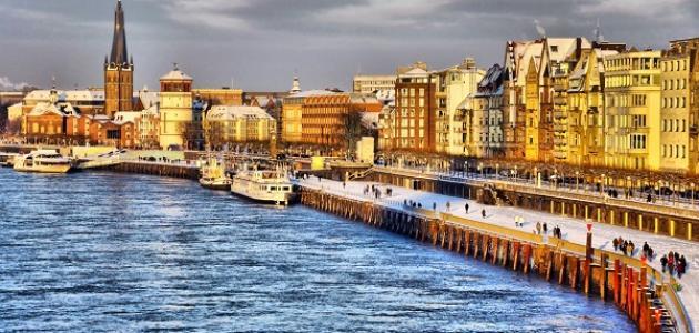 صورة مدينة دوسلدورف الألمانية