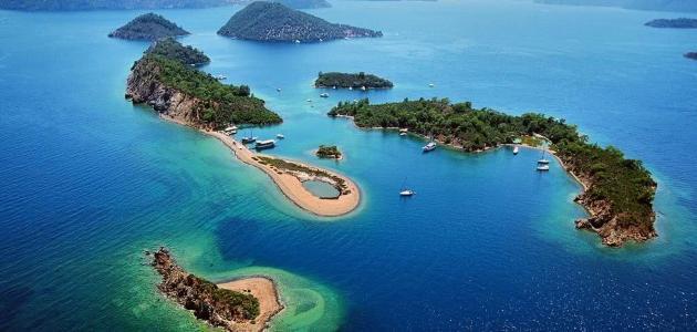 صورة جزيرة فتحية في تركيا