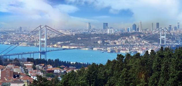 صورة كم تبعد فتحية عن إسطنبول