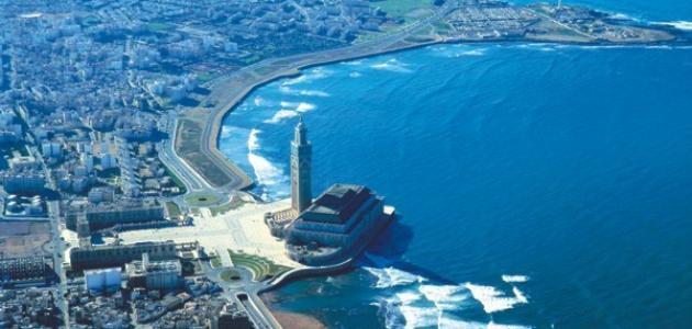 صورة مدينة مغربية ساحلية
