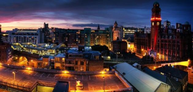 صورة معلومات عن مدينة مانشستر في بريطانيا