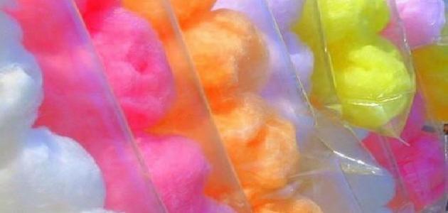 صورة طريقة عمل حلوى غزل البنات دون ماكينة
