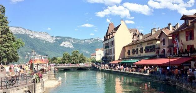 صورة بلدة شاموني الفرنسية