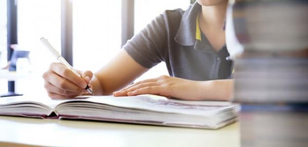 صورة أسهل طريقة لحفظ الدروس في الامتحانات