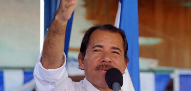 صورة اسم رئيس نيكاراغوا