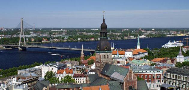 صورة أين توجد لاتفيا