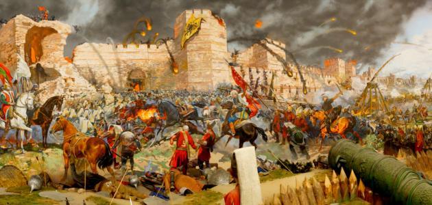 صورة كيف تم فتح القسطنطينية