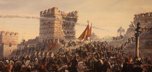 صورة كيف فتح محمد الفاتح القسطنطينية